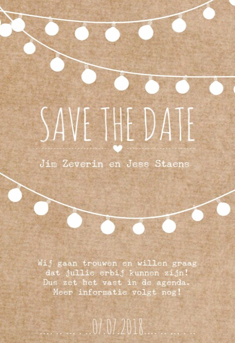 Save the date - Festival voor